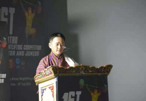 1st Weightlifting Championships in Bhutan
