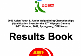 Result BOOK Of 2019 Asian Youth &Junior Weightlifting Champi ...